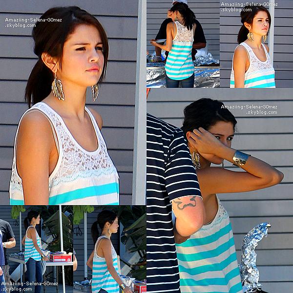 Mercredi 20 Juillet : Selena et Justin dans Une Voiture à Los Angeles.