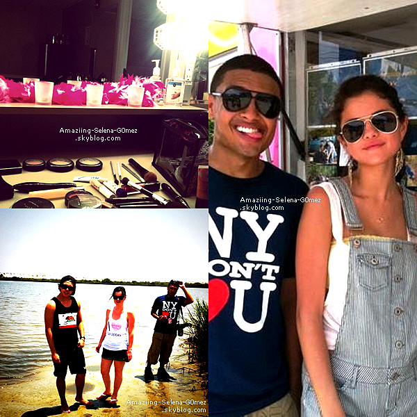 "Dimanche 31 Juillet : Selena Continuant le ""We own The Night Tour"", Hier Selly a donnée un Concert à St. Augustine Toujours en Floride."