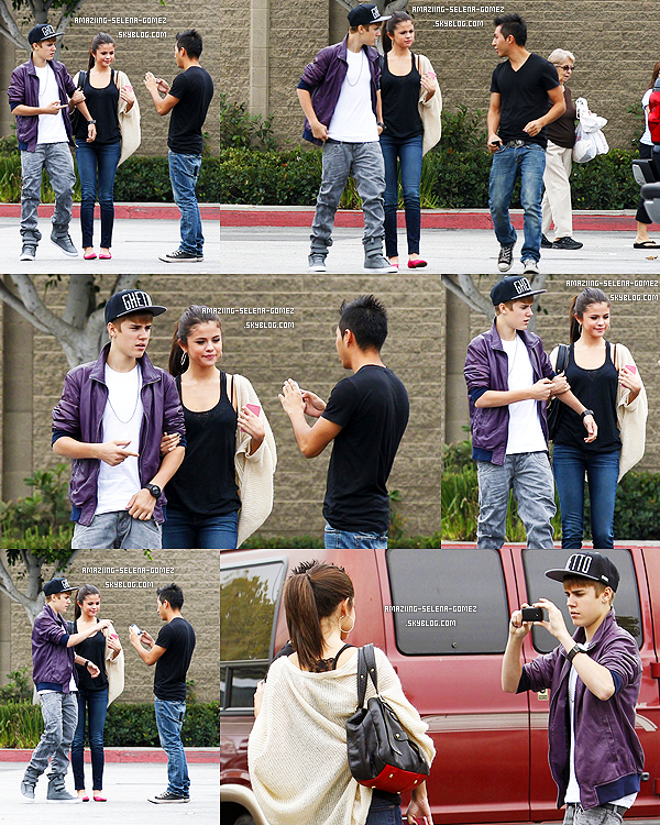 "Samedi 17 Septembre : Selena et Justin Posant avec Usher au ""Georgia Music Hall of Fame Awards 2011"" à Atlanta."