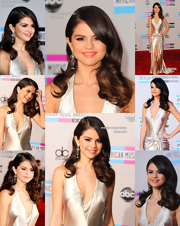"Dimanche 20 Novembre : Selena Posant sur le Red Carpet des ""American Music Awards 2011"" à Los Angeles. Top ou Flop ?"