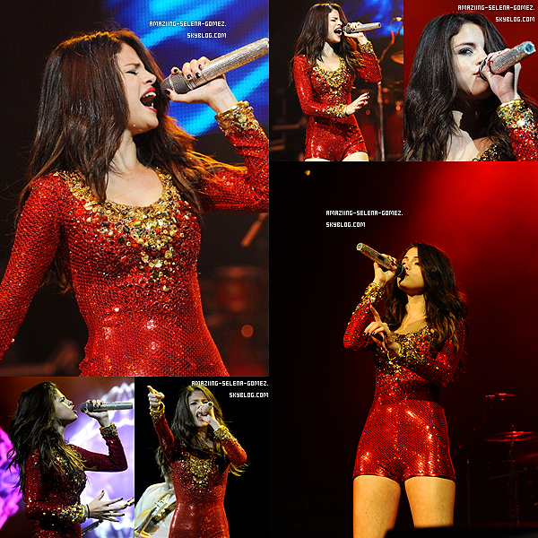 "Mardi 13 Décembre : Selena Performant Pour le ""Jingle Ball"" Devant Plus de 18 000 Personnes à San José en Californie"