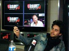 Jared Leto étais l'inviter de Cauet sur NRJ le 20 Mai 2011.