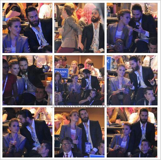 Jared & Scarlett Johansson