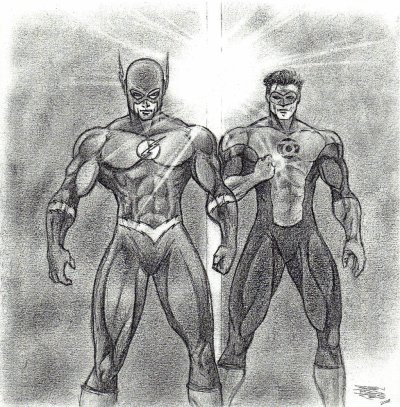 THE FLASH & THE GREEN LANTERN
