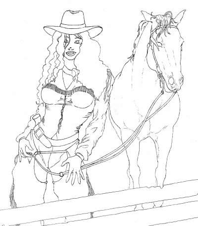 HORSE WOMAN