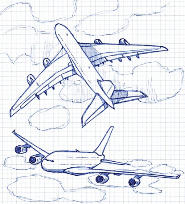 Croquis Airbus