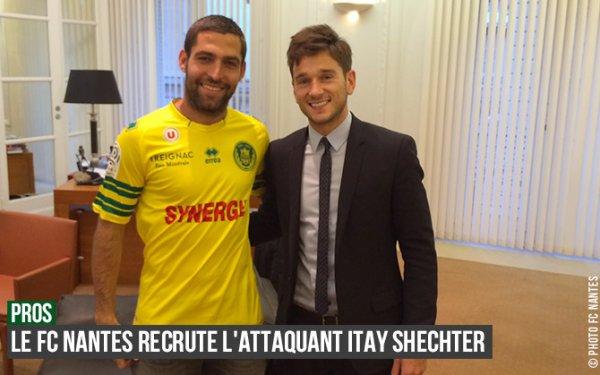 Nantes recrute Shechter (Hapoel Tel-Aviv)