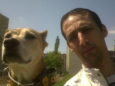 mwa et ma chienne athena !!!!!!!!!!!