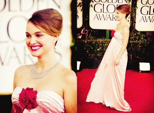 Natalie Portman a gagné un(deux) Golden Globe !