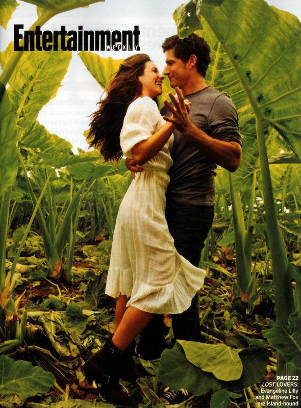 Matthew Fox & Evangeline Lilly
