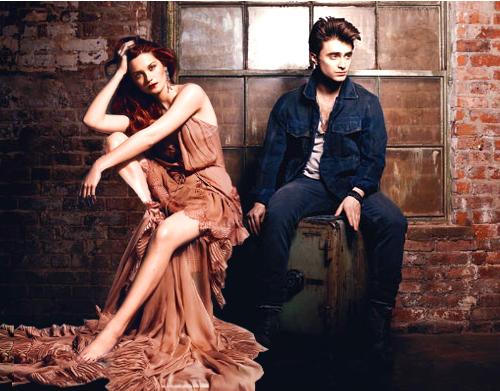 Bonnie Wright & Daniel Radcliffe