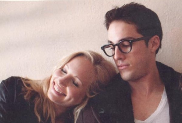 Candice Accola & Michael Trevino