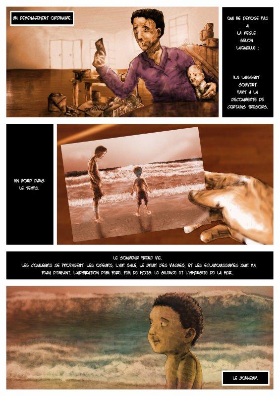 Petite bande dessinée sur la thematique de l'enfance !