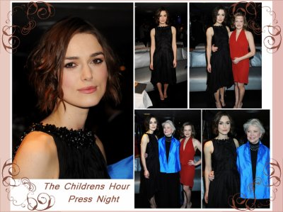 """Press night"" au Comedy Theater !"