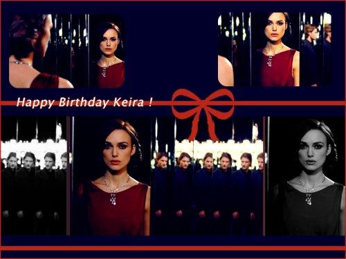 Keira fête ses 26 ans !