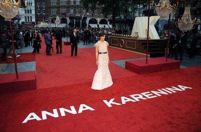 Anna Karenina: avant-première à Londres !