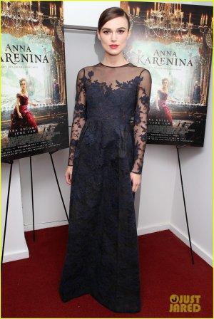 Présentation du film Anna Karenine à NY !
