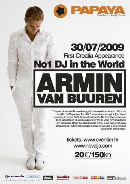 Armin Van Buuren The Best DJ in The World