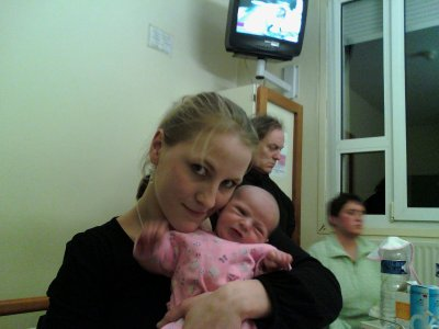 Moi et ma petite nenette