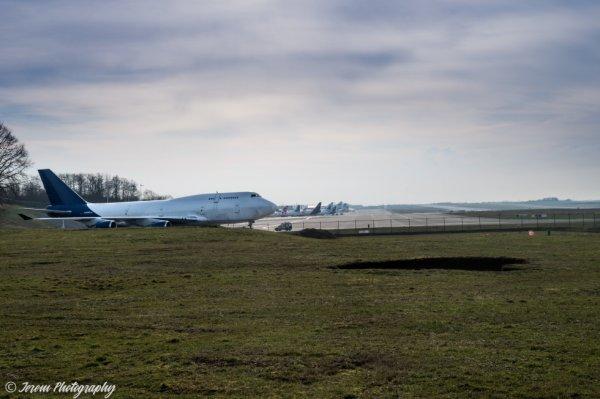 L'avion est prêt à partir ...