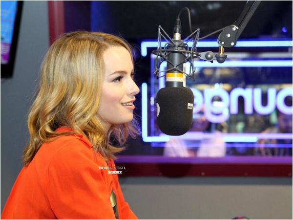 .  Le 20 juin 2013 : Bridgit s'est rendue dans les studio de la radio BBC à Londres pour promouvoir son album .