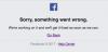 Quand Facebook a des bugs