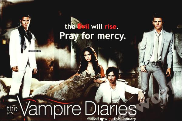 Nouveau Poster Vampire Diaries
