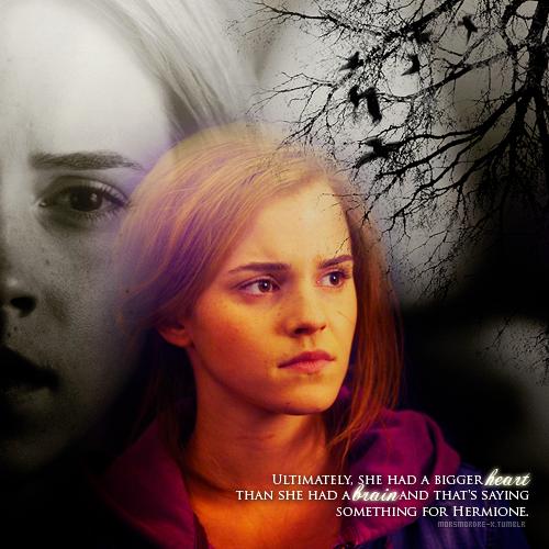 . Tout peut encore changer. || CHAPITRE I - Les dés sont jetés.«- Non Hermione, nous ne voulons pas de toi, c'est tout, repris Harry, ferme.» .