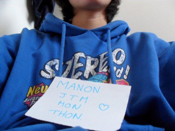 _Manon mon thon *-*
