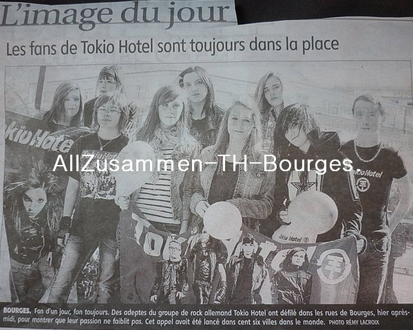 """Journal """"Le Berry"""" du Dimanche 17 Avril 2011."""