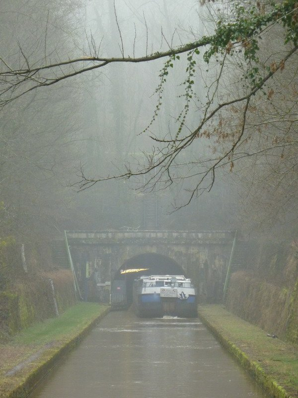 le souterrain de Balesmes: l'accès sud