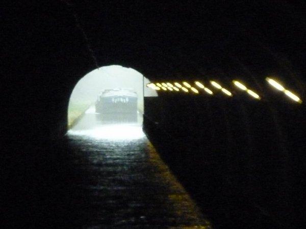le souterrain de Balesmes: dans le trou