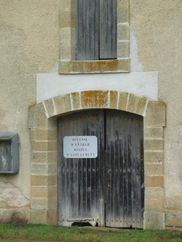 le souterrain de Balesmes: acces nord