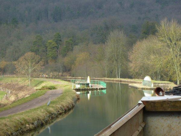 le pont-canal de Foulain