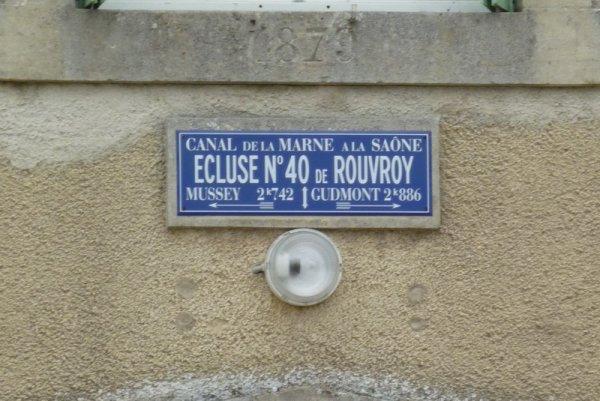 le pont-canal de Rouvroy