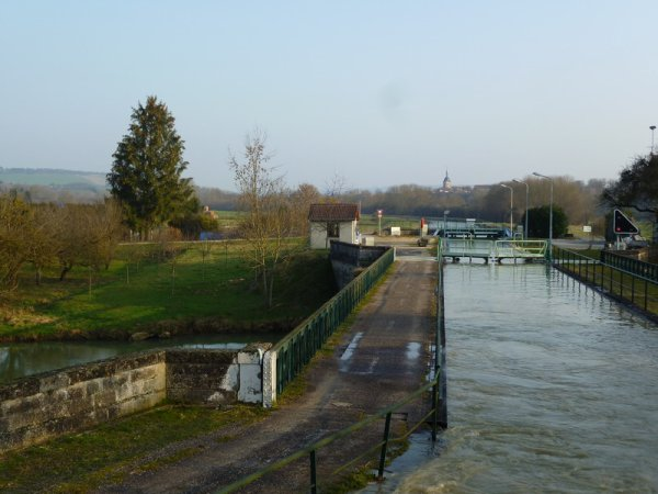 le pont-canal de Rouvroy, suite