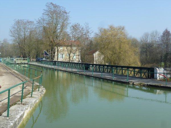 le pont-canal de Mussey