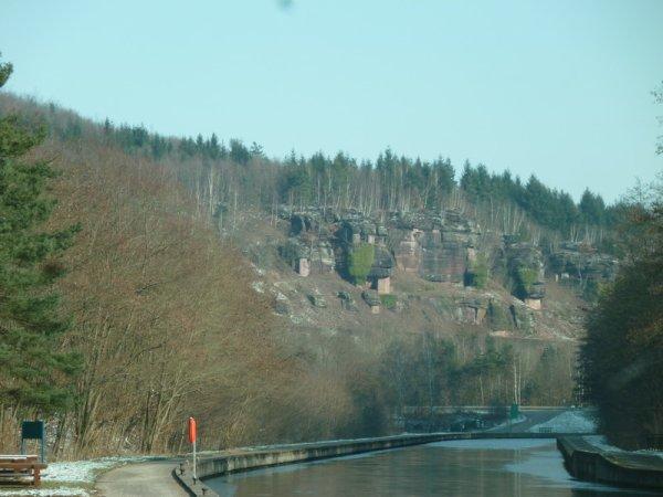 entre Arzviller et Lutzelbourg