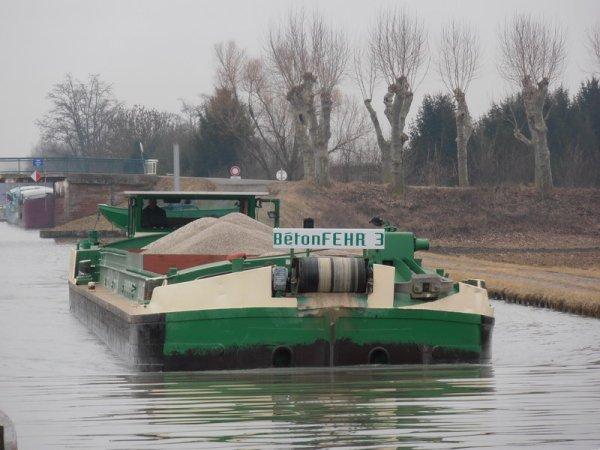 les bateaux de Beton Fehr