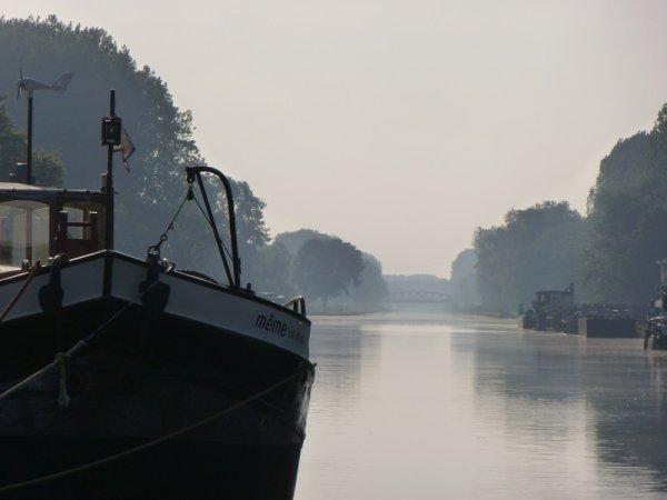 Canal latéral à l'Oise à Sempigny