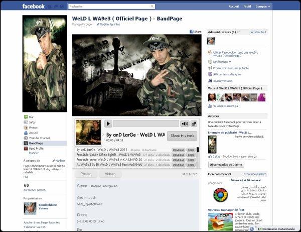 La Page officiel De WeLD L WA9e3 Sur FaceboOK