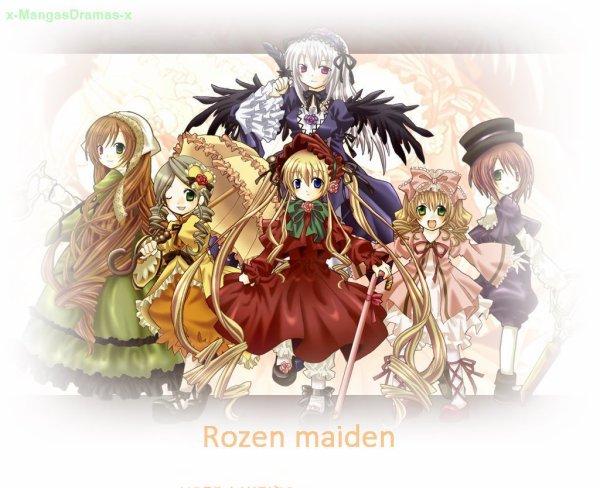 Rozen Maiden ローゼンメイデン