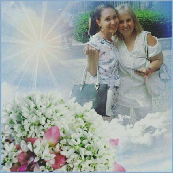 Moi et ma fille de 28 ans moi 68ans