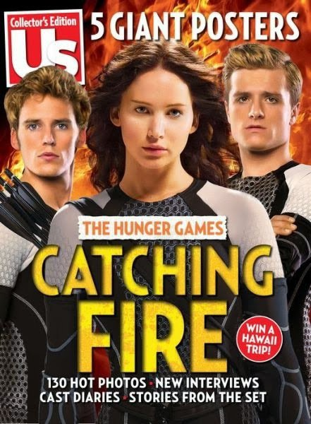 "New Stills de ""Catching Fire"" du magazine ""US Weekly""."