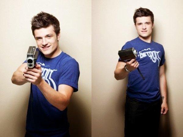 New outtakes de Josh pour un ancien photoshoot.