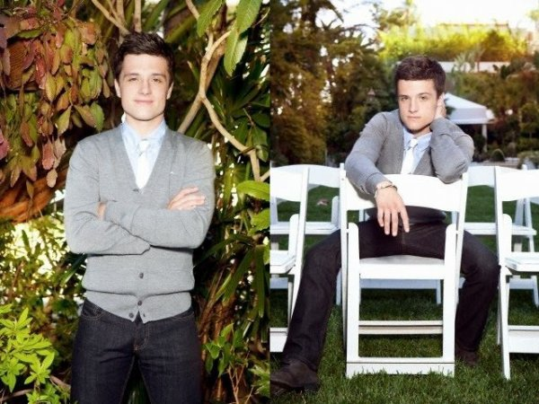 New outtakes de Josh pour un ancien photoshoot.