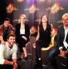 "Le cast de ""Catching Fire"" au Global Google+Hangout."