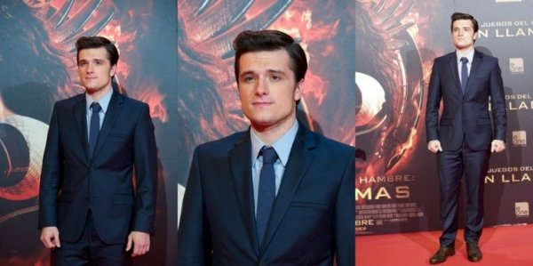 "AP de ""Catching Fire"",à Madrid,Spain,le 13 novembre 2013."