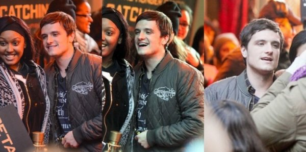 "Josh au ""Good Morning America""+interview,à New York,le 19 octobre 2013."