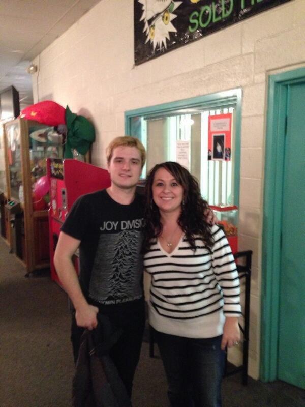 Photos de Josh avec des fans à Cincinnati.
